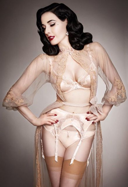 Performer Dita Von Teese demystifies the just-woke-up-like-this beauty, fitness, and fashion myths, and shares her morning rituals.