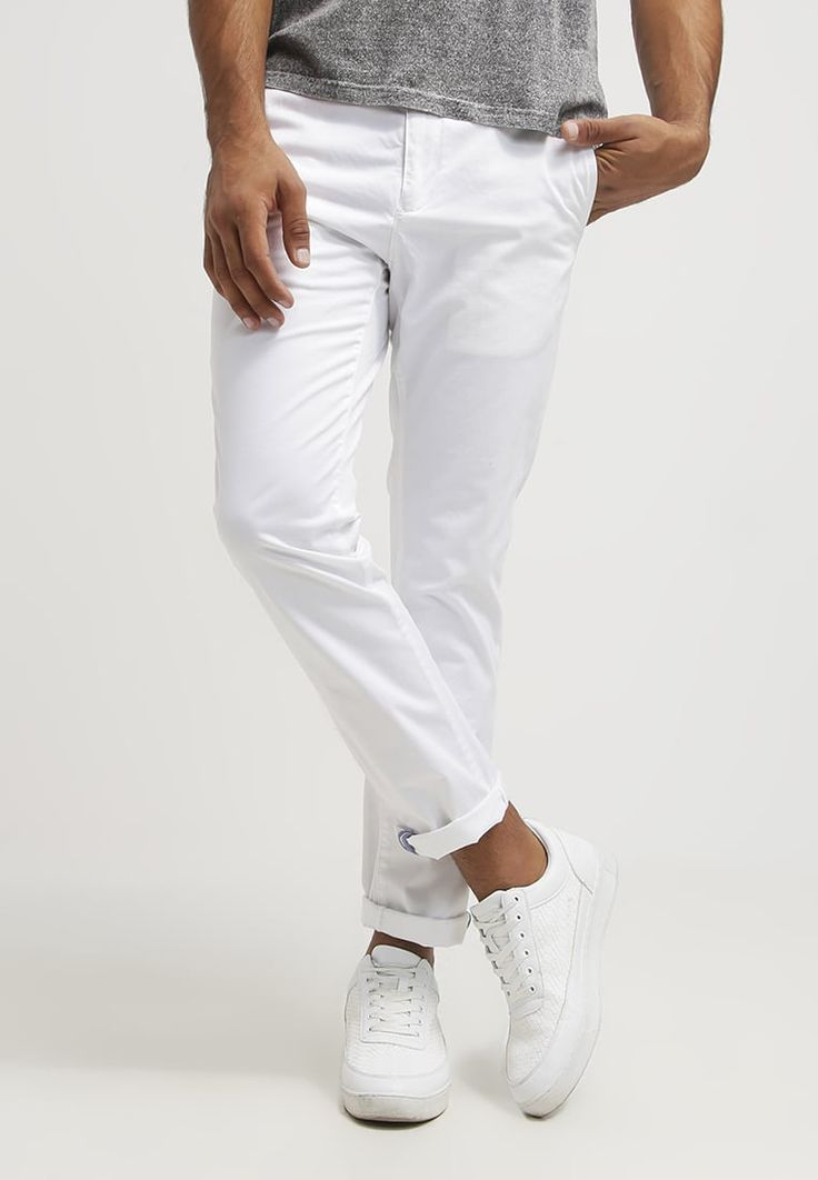25  best ideas about Mens white trousers on Pinterest | White ...