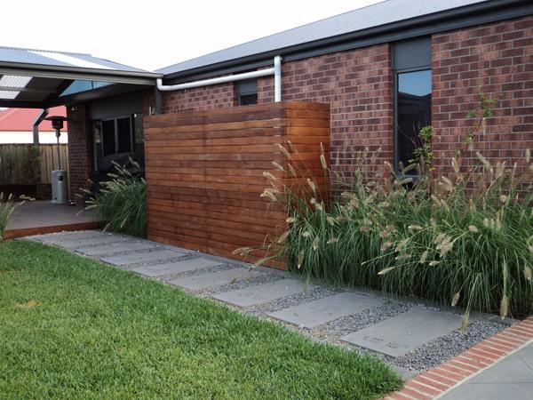 hiding the water tank courtyard ideaswater tankoutdoor ideasoutdoor spaces fencinggarden