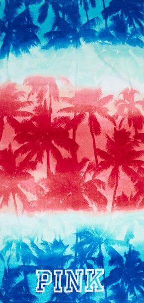 Victoria's Secret Pink Americana phone wallpaper