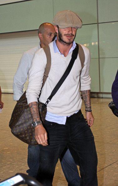 David Beckham Classic Jeans - David Beckham Looks - StyleBistro
