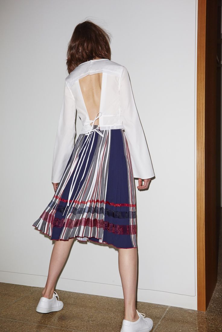 Misha Nonoo Resort 2016 - Collection -back tie detail