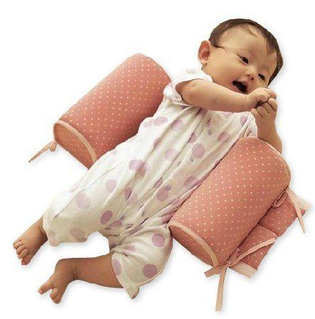 Baby sleep positioners   - Pin it :-) Follow us .. CLICK IMAGE TWICE for our BEST PRICING ... SEE A LARGER SELECTION of  baby positioners at   http://zbabybaby.com/category/baby-categories/baby-safety/baby-sleep-positioners/ - gift ideas, baby , baby shower gift ideas, kids  -  Baby Infant Cotton Anti Roll Pillow Sleep Head Positioner Pink Dot By ZC Express « zBabyBaby.com