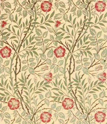 William Morris Sweet Briar Tapet