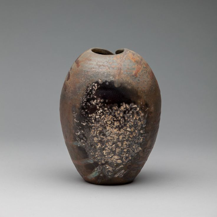 Cut Vase – Sarah Brown // Anagama Wood-Fired Porcelain