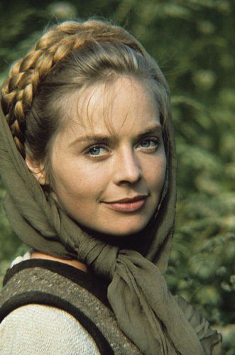 Susannah York - Margaret More in  'A Man For All Seasons'. She was an extraordinary actress, so beautiful, and she had that wonderful deep croaky voice. She should have lived and acted for so many more years.