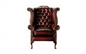Leather Chairs / The Longford