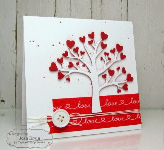 Stamping with a Passion!: Love Tree Valentines
