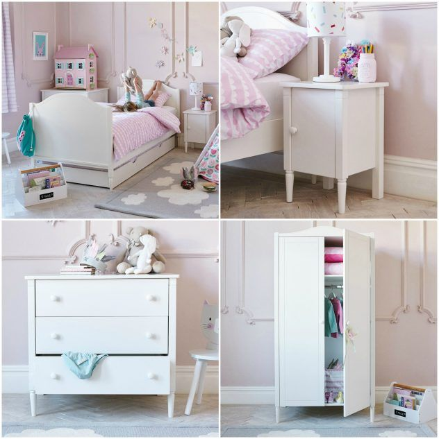 Miss Cat inspired girls bedroom. From Great Little Trading Company. A perfectly pastel bedroom!