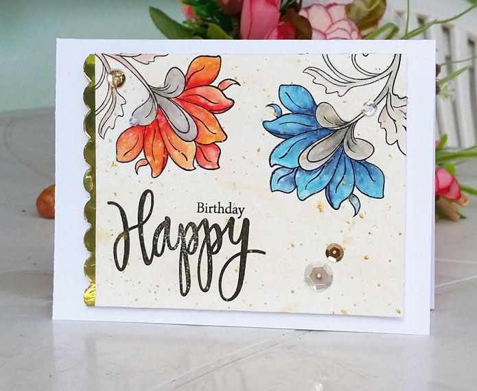 17 Best images about Birthday Cards Floral – Persian Birthday Cards