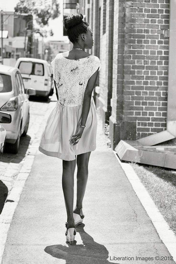 Model - Atong Omoli, Fashion - The Social Studio, Photographer - Lisa Minogue of Liberation Images