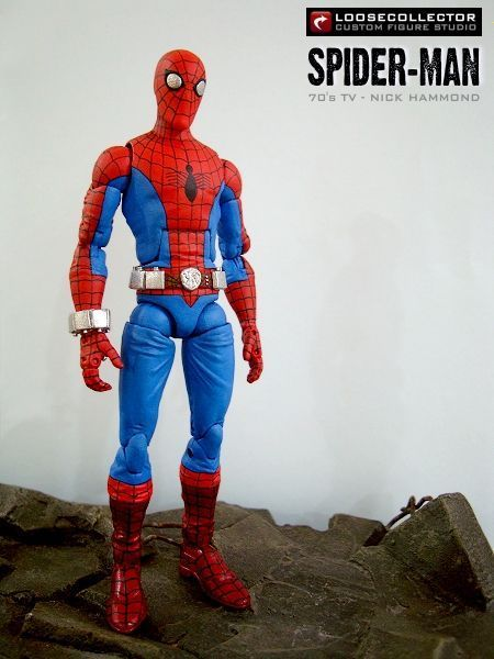 Spider-Man 70's TV Show (Nick Hammond) (Marvel Legends) Custom Action Figure by loosecollector