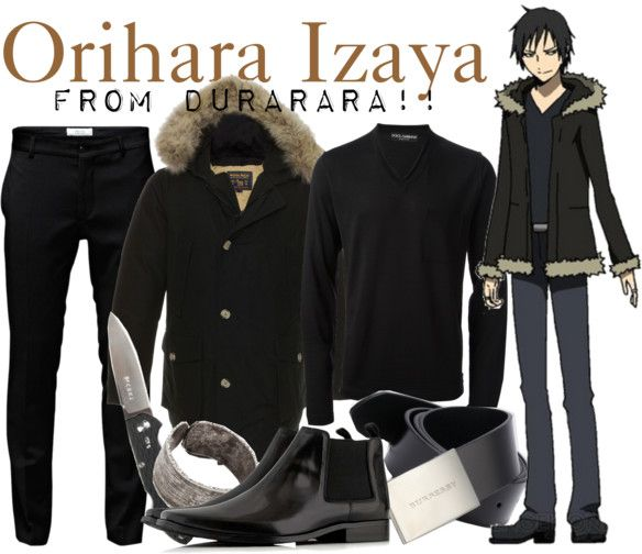 Casual cosplay of Izaya Orihara (from Durarara!! anime series)-- character inspired outfit