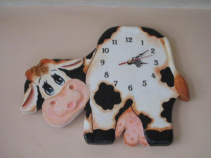 Vacas para la cocina en madera - Imagui