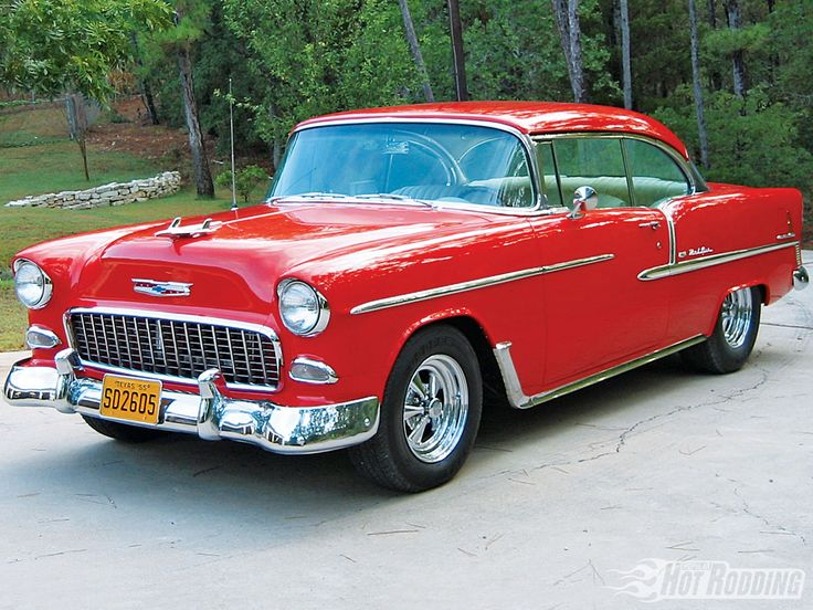 1955 Chevy Bel Air Coupe.