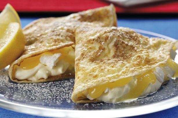 Lemon meringue pancakes recipe - goodtoknow