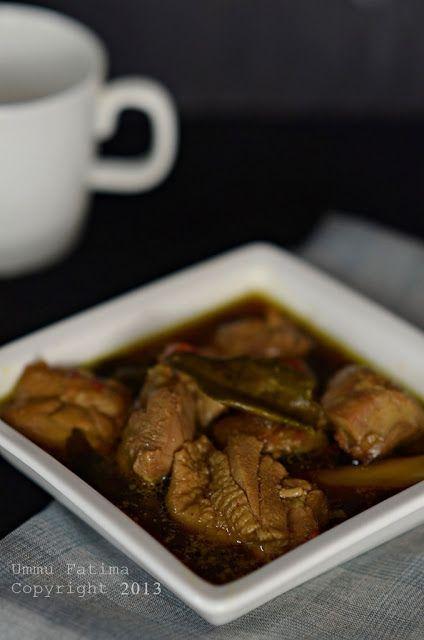 Simply Cooking and Baking...: Ayam Bumbu Tongseng