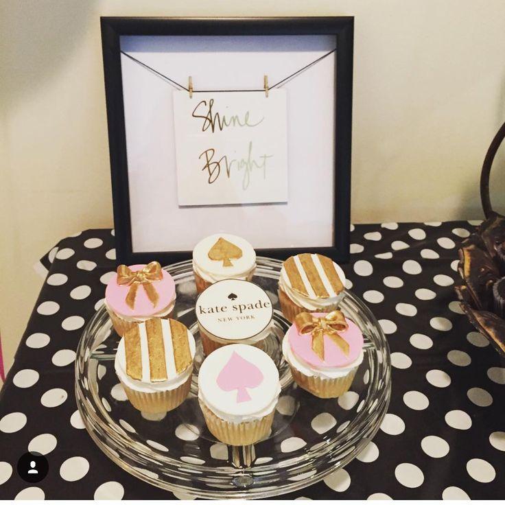 Kate spade cupcakes
