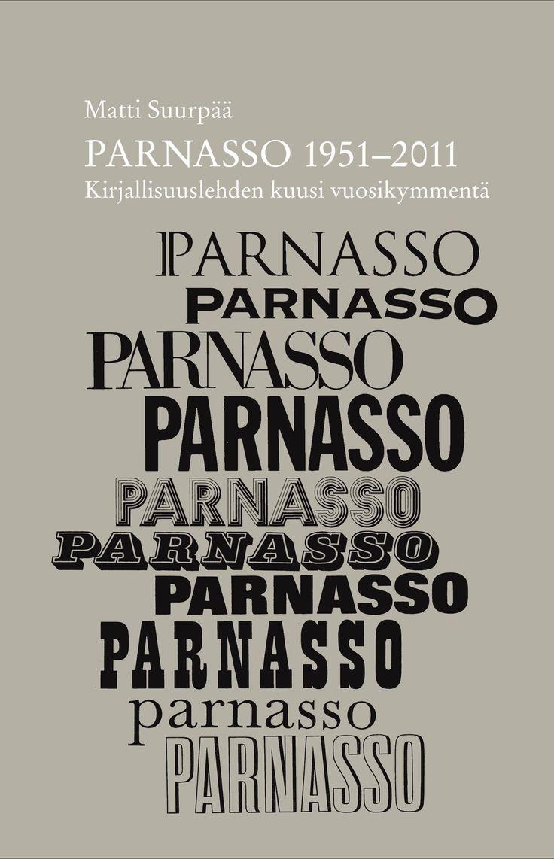 Title: Parnasso 1951–2011 | Author: Matti Suurpää | Designer: Jarkko Hyppönen