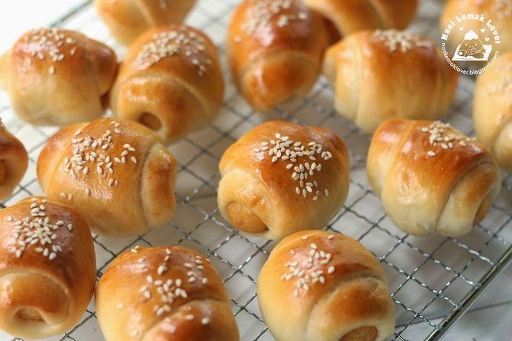 Nasi Lemak Lover: Mini Sausage Bread Rolls 迷你香肠面包卷
