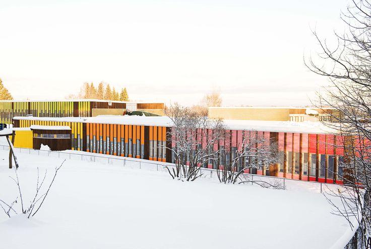 Prosjekter – Fortunen Bønsmoen skole Bonsmoen school Wan Awards Colour in Architecture