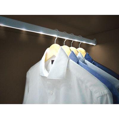 Jocca Jocca LED Wardrobe Rail with Motion Sensor | Wayfair UK