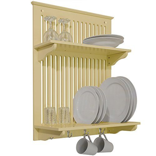 NOVEL - Kitchen Plate, Bowl, Cup Display / Wall Rack - Buttermilk WATSONS http://www.amazon.co.uk/dp/B005CUEPT0/ref=cm_sw_r_pi_dp_X91Swb1VCXBBF