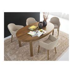 Tavolo Atelier in legno, ovale, 170x100 cm, allungabile Calligaris CS/398 - E