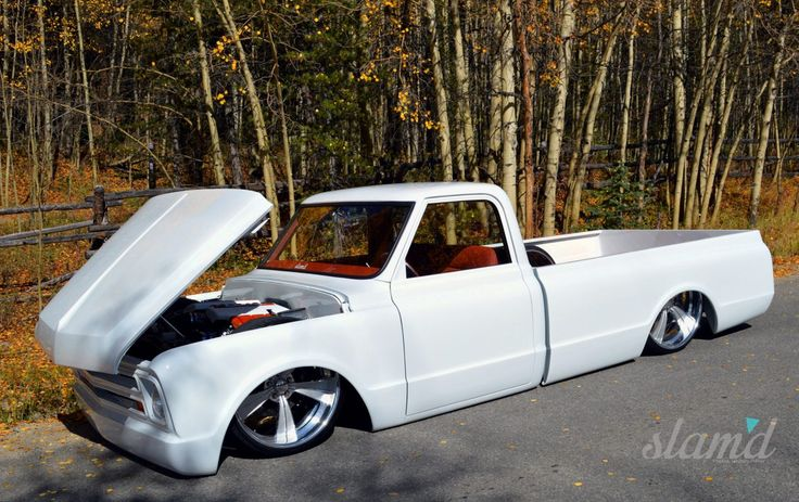 Eccentric – Mike Partyka's 1967 C10 – Slam'd Mag