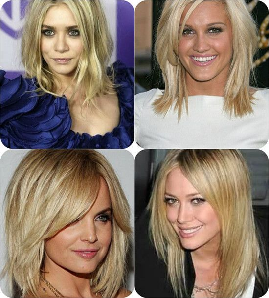 Medium or Long Hot Layered Celebrity Hair styles