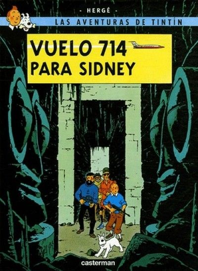 vuelo 714 para sidney | Album tintin, Vol 714 pour sydney