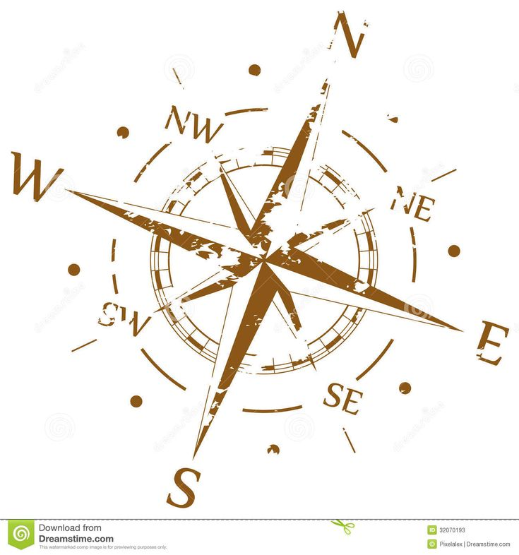 Brown Grunge Vector Compass - Download From Over 43 Million High Quality Stock Photos, Images, Vectors. Sign up for FREE today. Image: 32070193