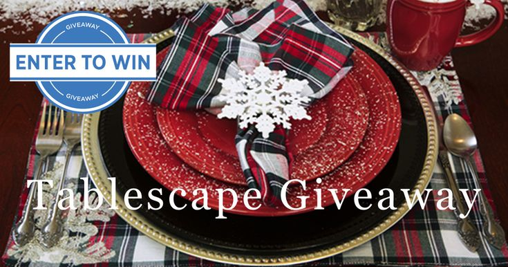 Bring a bright and cheery tablescape setting into your home by entering to win it! Bellacor is giving away this setting to one lucky winner. Enter by 11.14.17. https://goo.gl/A6avd3