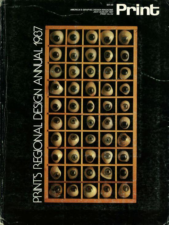 1987 Design: Rick Eiber, Andrew P. Kner. Photo: Ben Kerns.