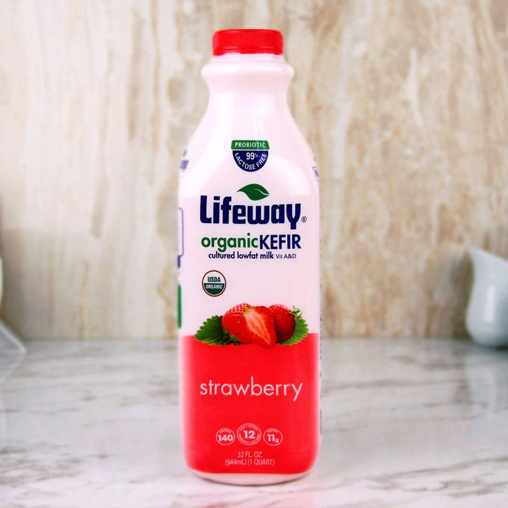 Lifeway Organic Kefir Lowfat Strawberry 32 oz