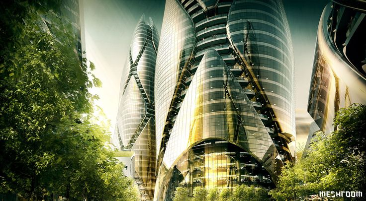 Mixed Use Towers  | Melbourne, Australia - 3D, Architectural Visualisation, Meshroom