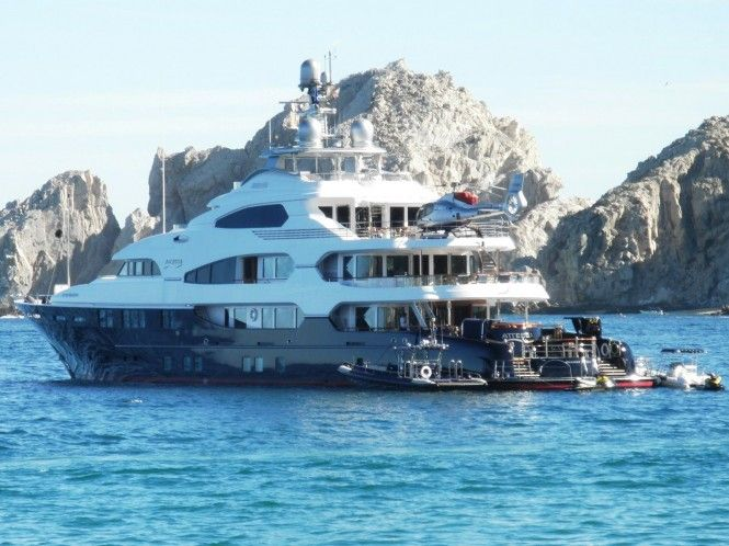 ATTESSA IV Yacht is one of the world's top 25 private superyachts by length …