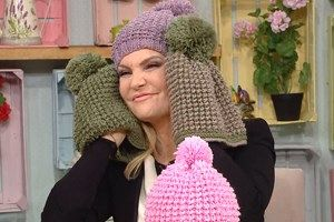 DERYA'NIN DÜNYASI ARŞİV - Kanalturk.com.tr  Knitted beret video tutorial