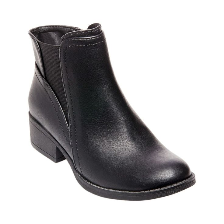 Girls' Stevies #purrfect Chelsea Boots - Black