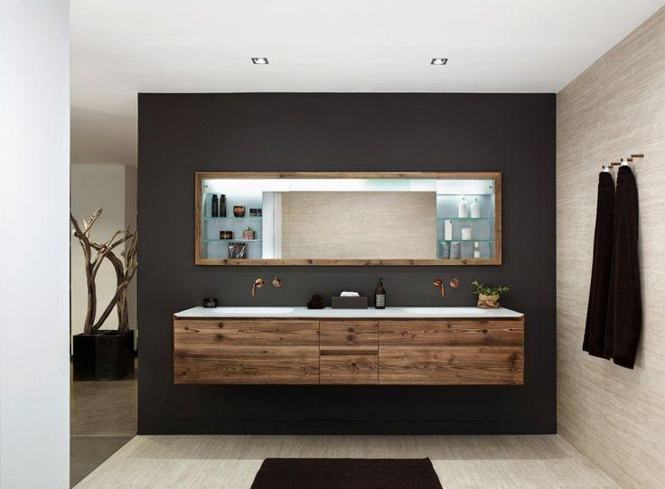 Picture result for vanity unit wooden (mit Bildern