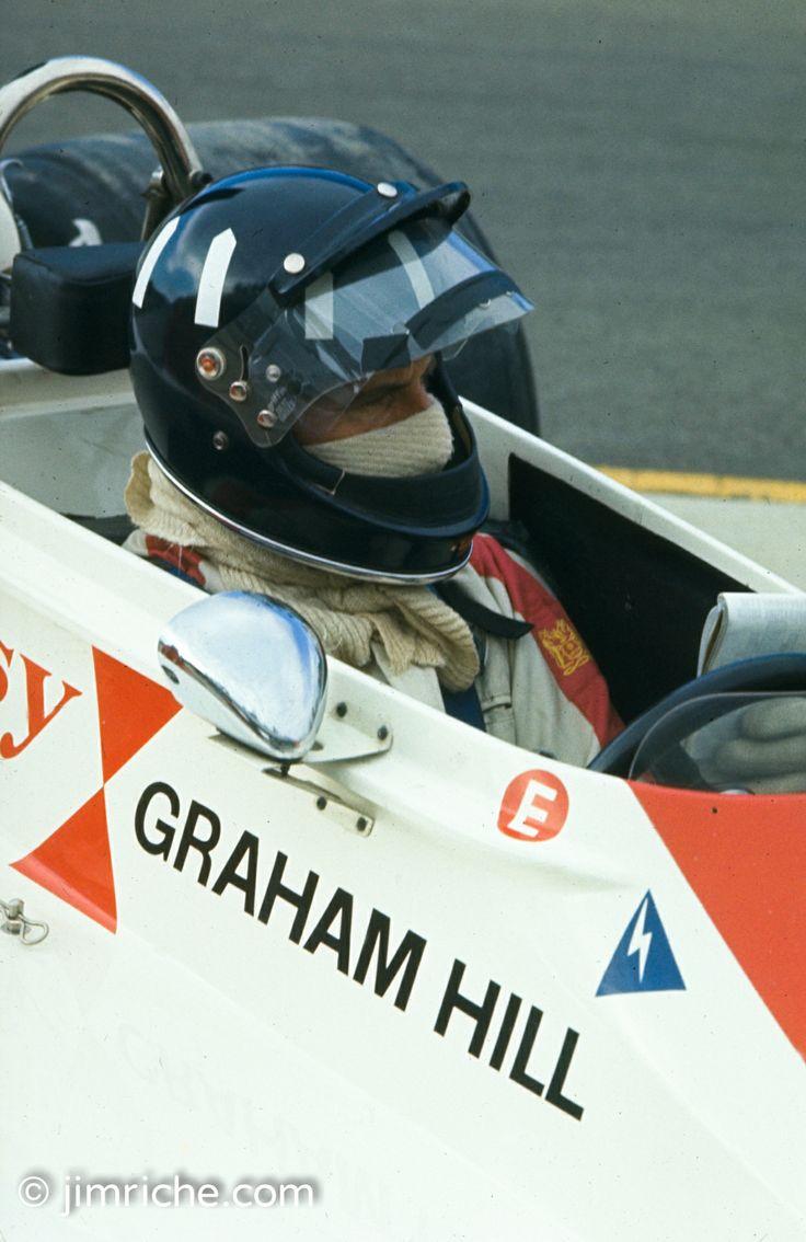 Graham Hill Griffin Helmet Classic F1 Pinterest