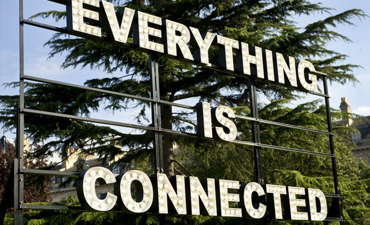 Frieze Art Fair London 2012 report | Art | Wallpaper* Magazine 'Everything is Connected' by Peter Liversidge, at Frieze Sculpture Park