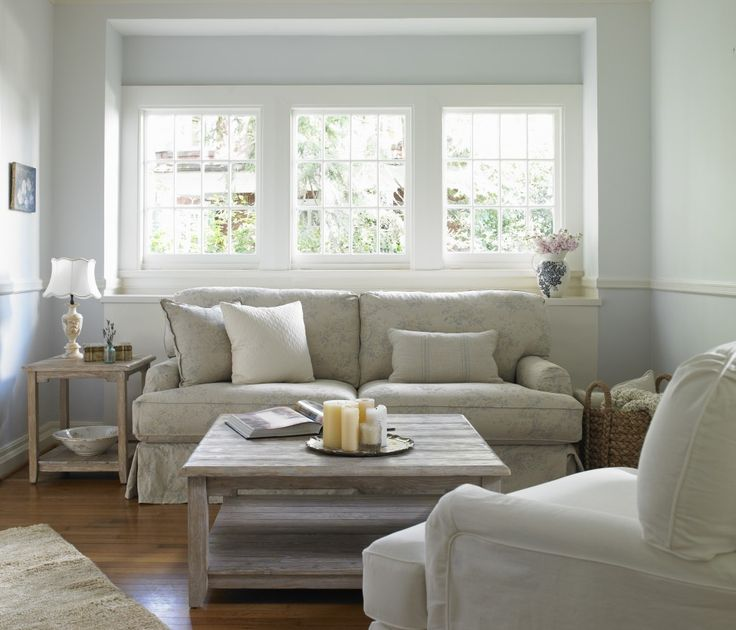 Love The Linen Couch Cover Neutrals Light And Airy Shabby Chic SofaShabby Living RoomShabby DecoratingShabby