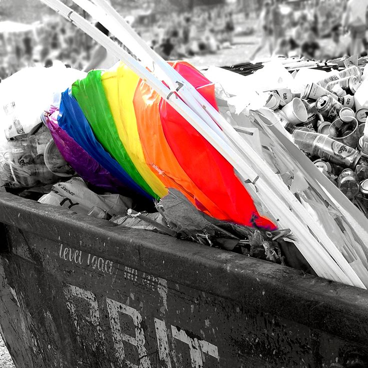 Gay Pride Trash by danieljb on DeviantArt