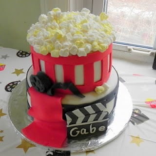 Fun movie theme cake