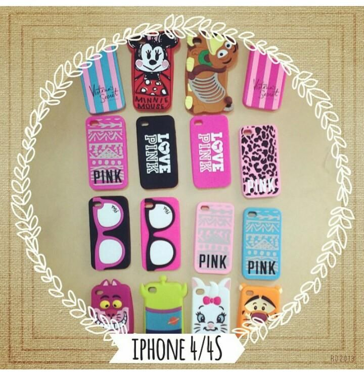 Cases disponibles para Iphon 4/ 4s