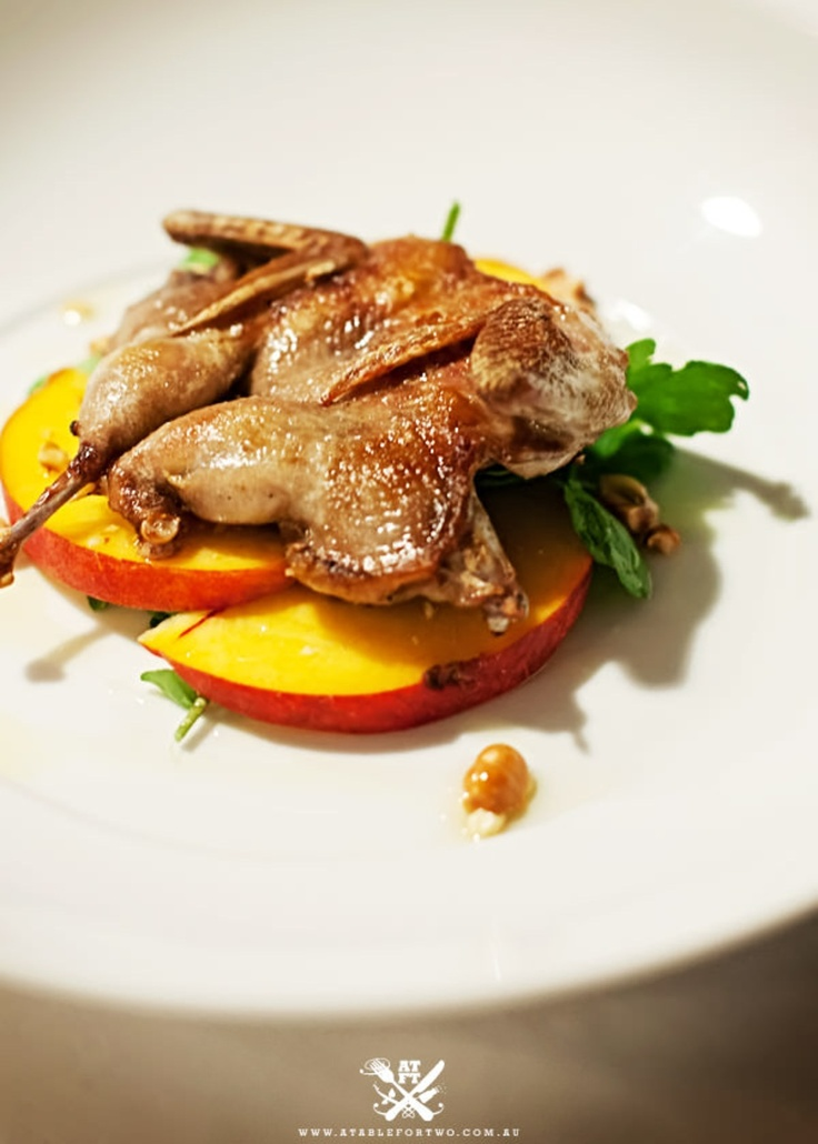 Bistro Molines at Tellavera Grove - Mount View, Hunter Valley {Roasted Quail…