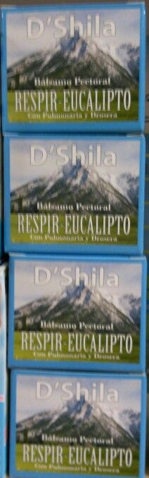 Balsamo respir eucalipto: Congestion, tos productiva, mocos... Remedio natural 100%, apto para aplicacion en niños a partit de 2-3años.