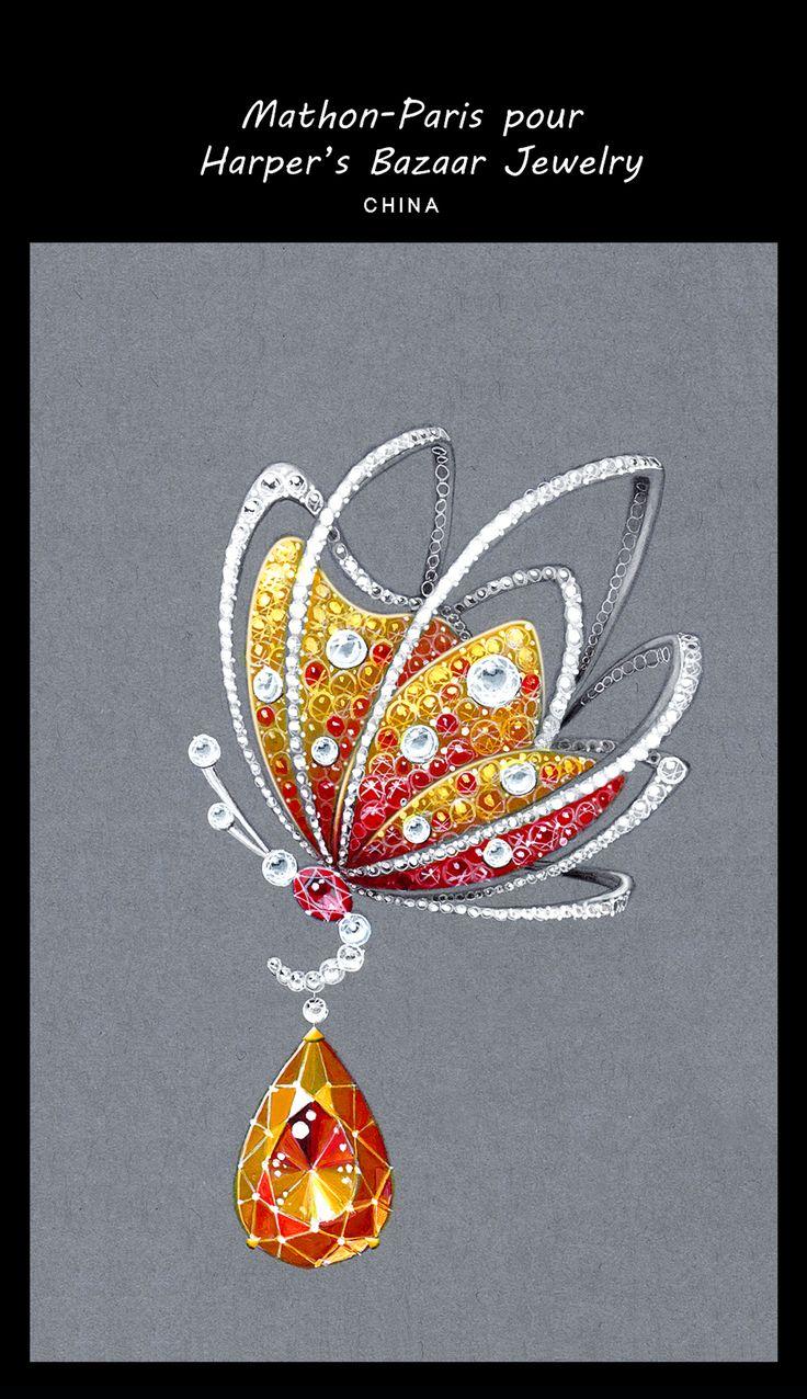inspirational    (Harper's Bazaar jewellery & Mathon Paris)