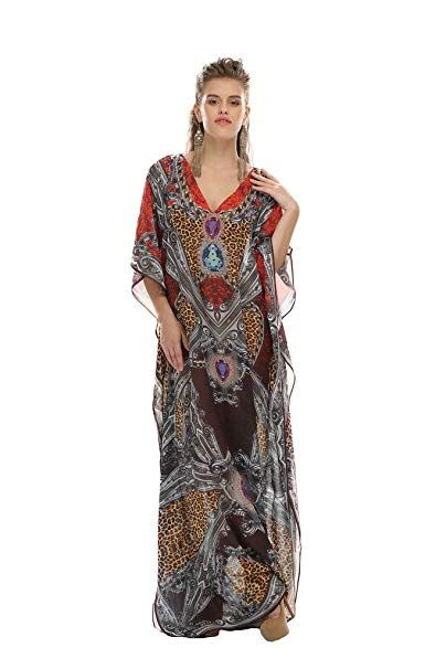 D G Prints Fab Women S Turkish Kaftan Beachwear Swimwear Cover Ups Beach Dress Dg 07 At C Weddings Pool Party Vip Room In